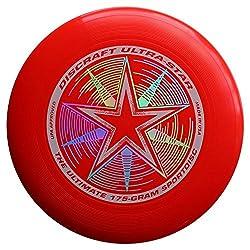 Discraft 175 G Ultrastar Frisbee (Bright Red)