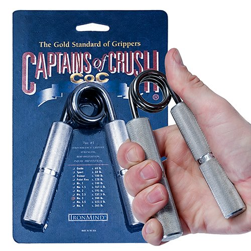 IronMind Grippers (USA Captains of Crush Grippers CoC Sport 80lb 36kg)