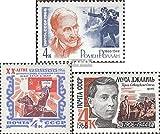 Sowjet-Union 3178,3179,3184 (kompl.Ausg.) 1966 Rolland, Mongolei, Dschalil (Briefmarken für Sammler)