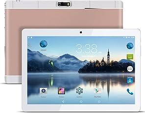 Android Tablet PC 9,6 Zoll PADGENE 16G Speicher 1G RAM 1280x800 Quad Core CPU Google Tablet PC Dual-SIM Slots USB/SD Dual Kamera 2MP und 5MP WiFi/3G Entsperrt Bluetooth 4,0 GPS Telefonfunktion(Rosig)
