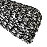 Paracord Seil Schnüre Nylon Outdoor Seil 4mm Stärke 7 Strängen Nylonschnur Fallschirmschnur Mehrzweck-Seil 250kg (550lbs) Bruchfestigkeit / Erhältlich in vielen verschiedenen Länge und Farben (U-008#, 16ft / 5m)