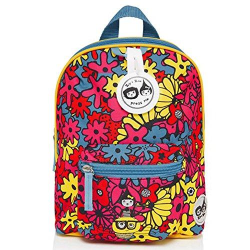 babymel-sac-a-dos-mini-sac-a-dos-pour-enfant-avec-harnais-et-musical-etiquette-design-floral-brights