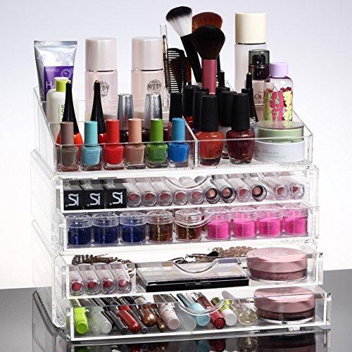 almacenamiento-cosmetico-transparente-extra-grande-caja-cajon-combo-b