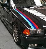 BMW M Farbe Auto Aufkleber Graphic Stripe M3Sport E30E36E46E60330325(SS20010)