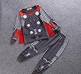 #8: Fancydresswale Superhero Clothing Set for Boys T-Shirt & Pant- Thor Dress 6-7 Years