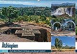 Äthiopien - Auf dem Dach Afrikas (Wandkalender 2019 DIN A2 quer): Äthiopien, grandiose Berglandschaften, weites Buschland (Monatskalender, 14 Seiten ) (CALVENDO Orte)