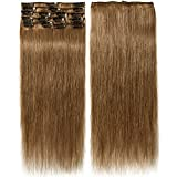Best Extensions de cheveux humains - 40-55cm Extension Cheveux Naturel a Clip (65-75g) 8 Review