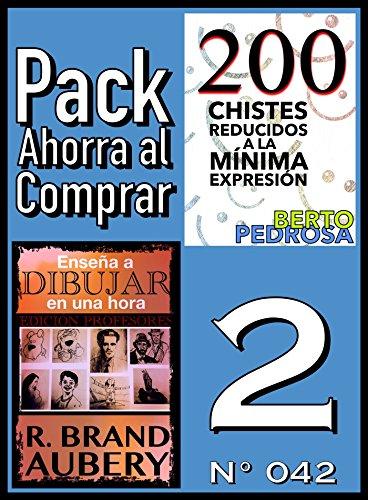 Pack Ahorra al Comprar 2 (Nº 042): Enseña a dibujar en una hora & 200 Chistes reducidos a la mínima expresión por R. Brand Aubery