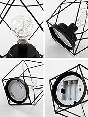 LMHZSDMY Wind Lampe, Nordic Dekorieren Lampe Net, Rote Mädchen Herz, Schlafzimmer Zubehör, Nachtlampe Geschenk