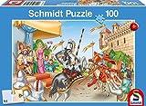Schmidt Spiele 56116 - Ritter, 100 Teile Puzzle