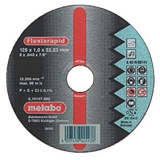 Metabo 616179000 – Felixia rápida ino 125 x 22.2 x