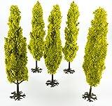 5 x Höhe Zypresse 180mm Baum von WWS – 00 Spur, Landschaft, Gelände, Szenerie, Modelleisenbahn