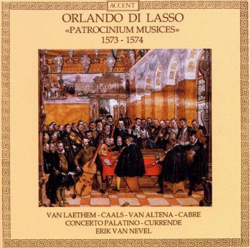 Orlando di Lasso : Patrocinium Musices, 1573-1574