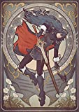 Instabuy Poster Fire Emblem Art Nouveau Lucina - A3 (42x30 cm)