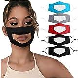 le nez la bouche la protection transparente /ρrotection Convient pour les femmes et les hommes M/às/κ Transparent R/éutilisable pour le visage le nez la bouche