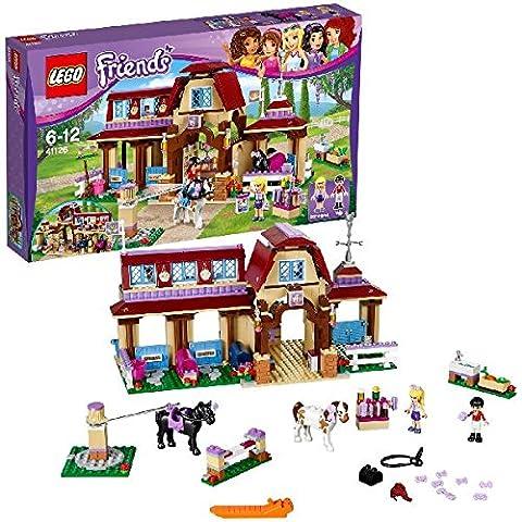 LEGO - 41126 - Friends - Jeu de construction - Le Club d'équitation de Heartlake City