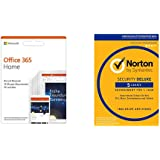 Microsoft Office 365 Home multilingual + Norton Security Deluxe 2019 | 5 Geräte
