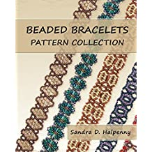 Beaded Bracelets Pattern Collection (English Edition)