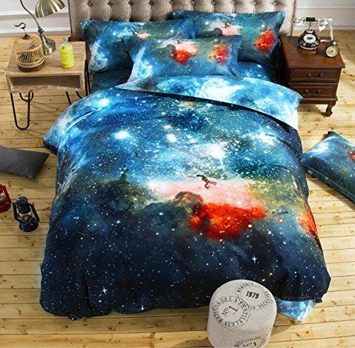 nebula sterne 3d textile quilt bettwäsche eine vierköpfige familie , 006 , 2.0m