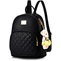 Latest New Trend Teddy Backpack Used For Women & Girls Pu Leather Backpack School Bag Student Backpack Travel Bag Tution…