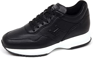 Hogan F0082 Sneaker Uomo Black Interactive Scarpe H 3D Shoe Man