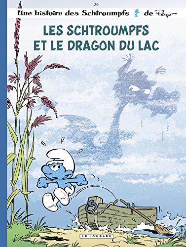 Les Schtroumpfs Lombard - tome 36 - Les Schtroumpfs et le dragon du lac par JOST Alain
