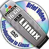 Linux sur clé USB 16 GB et 5-DVD, installation et configuration de référence ensemble, 32-bit: CentOS 6, Fedora 25, Debian 8 et Kubuntu 16.10