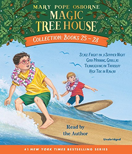 Magic Tree House Collection: Books 25-28: #25 Stage Fright on a Summer Night; #26 Good Morning, Gorillas; #27 Thanksgiving on Thursday; #28 High Tide in Hawaii (Magic Tree House (R), Band 10)