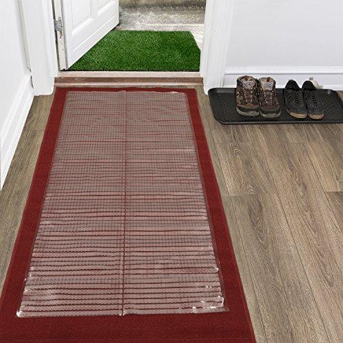 Ottomanson Multi Grip Gerippter Runner Fußmatte Teppich Teppichschutzmatte Modern 26