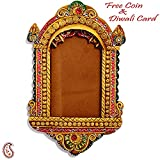 Aapno Rajasthan Wonderful Premium Diwali Gift Box Combo (16 cm x 16 cm x 6 cm, Orange, Set of 3)