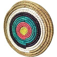 redonda Diana de paja–Diámetro 20in, grosor 2,5in, objetivo tiro