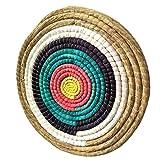 TOPHUNT Zielscheibe 50x50 cm Traditionelles Festes Bogen-Bogenschießen-Ziel für im Freiensport-Bogenschießen-Bogen und Schießdart