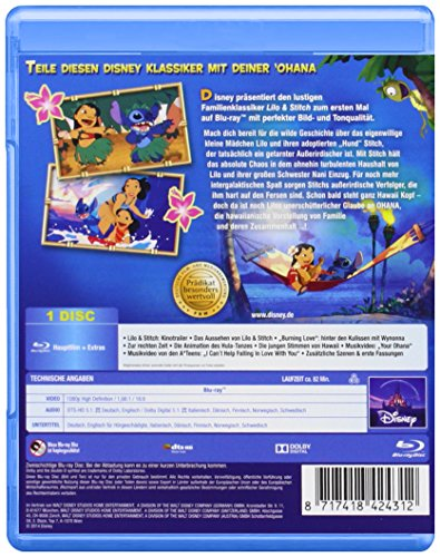 Lilo & Stitch [Blu-ray]: Alle Infos bei Amazon