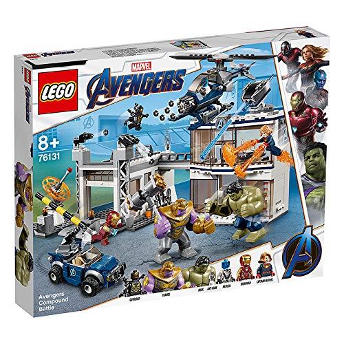 LEGO 76131 L Attaque du QG des Avengers Marvel Avengers