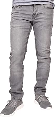 Crosshatch Mens Buraca Stretch Slim Fit Jeans