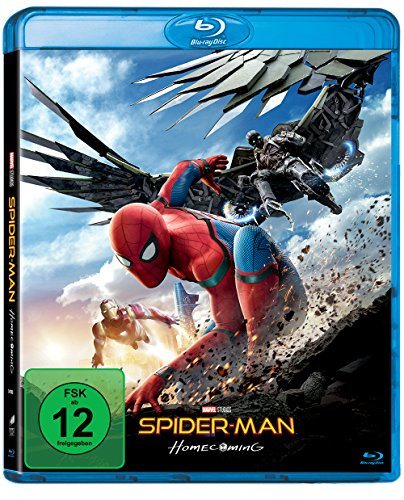 Bild von Spider-Man Homecoming [Blu-ray]