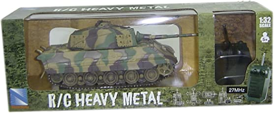 New Ray 1:32 R/C King Tiger, Multi Color