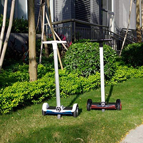 Bellaluee UERAESU011 F10 10 Zoll 2 Räder Smart Elektro Skateboard Selbstausgleich Stehende Roller Hoverboard Mit Handstange Pole