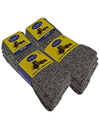 6 Paar Herren PREMIUM Arbeitssocken Baumwolle ohne Gummidruck