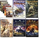Complete Malazan Series (Gardens of the Moon, Deadhouse Gates, Memories of Ice, House of Chains, Midnight Tides, the Bone Hunters, Reaper's Gale, Toll the Hounds, Dust of Dreams, the Crippled God) (Malazan, 1-10)