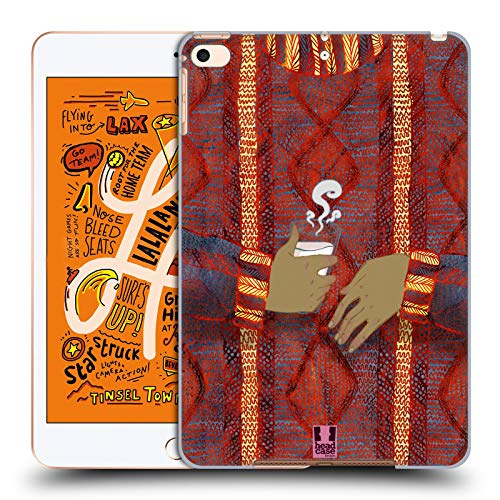 Head Case Designs Kokos Tasse Gestricktes Pullover-Muster Harte Rueckseiten Huelle kompatibel mit iPad Mini (2019)