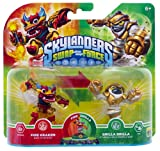 Skylanders Swap Force - Double Pack 4 - Grilla Drilla, Fire Kraken [Importación Alemana]