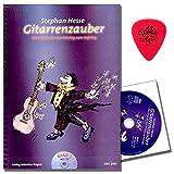 Gitarrenzauber Band 1 - Gitarrenschule für Kinder ab 5 Jahren mit CD und Dunlop PLEK ( Prinzip der kleinen Lernschritte ) - Autor Stephan Hesse