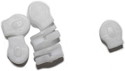 dalipo 32007 - Schieber für Bettwäsche-Reißverschluss, 10 Stück