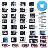 Quimat Update Version 39 Sensormodul, Starter Kit Roboterprojekte for Arduino UNO R3 Raspberry Pi 3 2 Mega Due Nano Arduino Programmierung mit Tutorials (QK5)
