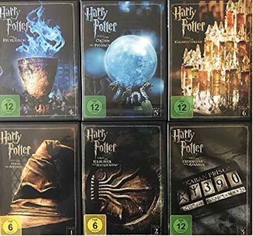 DVD Set * Harry Potter - Teil 1+2+3+4+5+6 * Deutsche Originalware