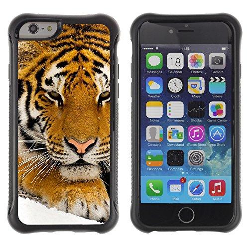 Graphic4You Baby Tiger Tier Design Shockproof Anti-Rutsch Weichen Hülle Case Tasche Schutzhülle für Apple iPhone 6 Plus / 6S Plus Design #2