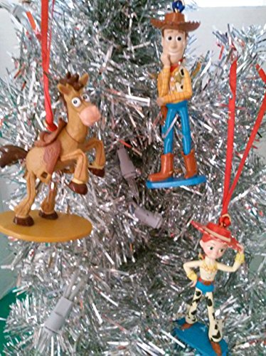 Disney Toy Story Weihnachten Ornament Set (Woody, Jessie, Bullseye)