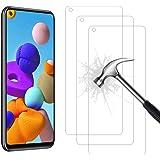 AHABIPERS Pellicola Protettiva per Samsung Galaxy A21S Vetro Temperato, 9H Durezza Ultra Resistente [Anti-Graffo/Olio…