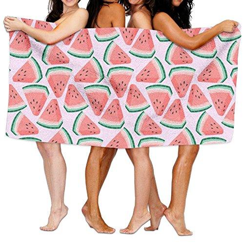 fjfjfdjk Watermelon Wallpaper Printed Bathroom Microfiber Towel -